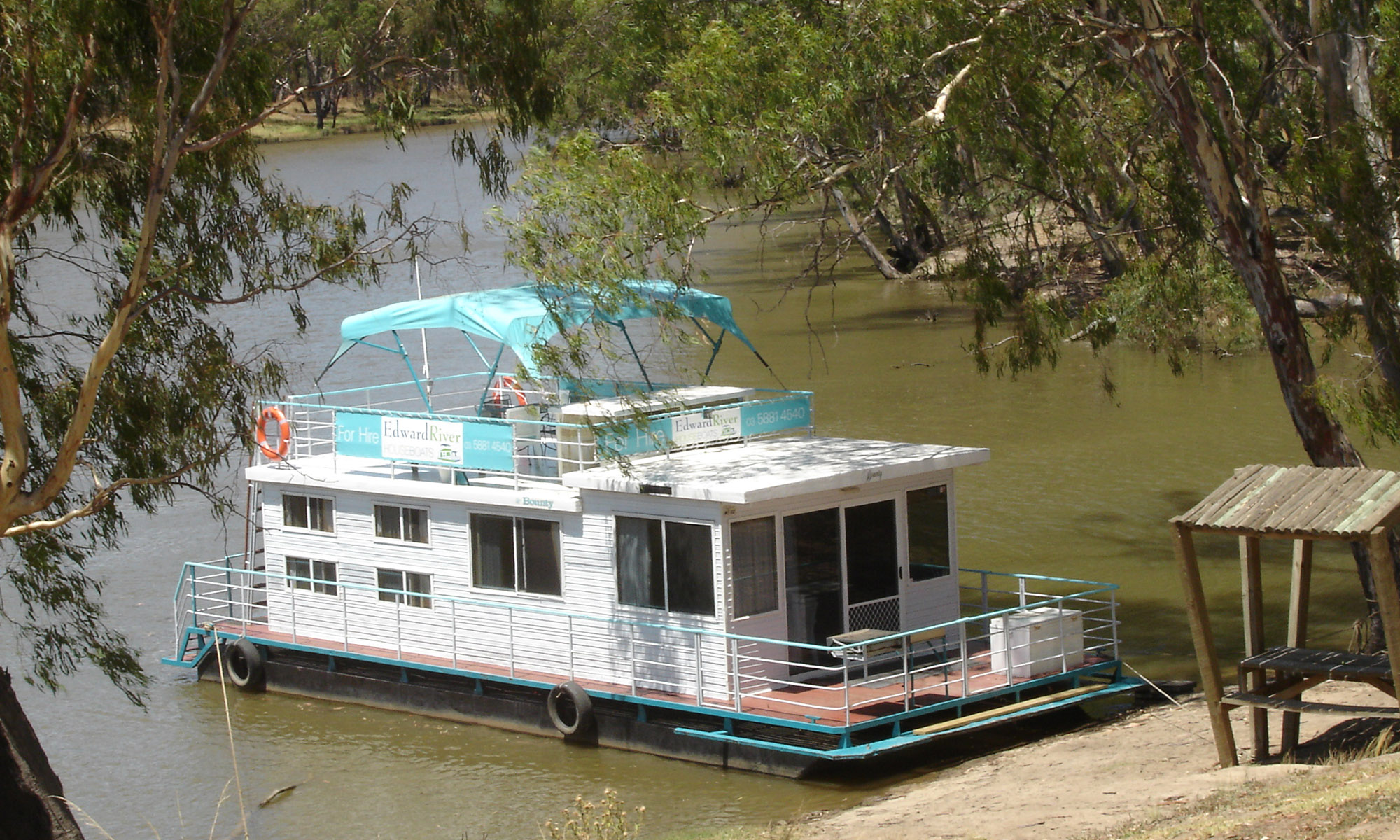 Edward River Houseboats